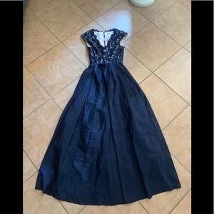 Eliza J formal navy long dress size 10 prom